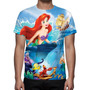 Camisa, Camiseta Disney A Pequena Sereia 02 - Estampa Total