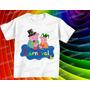 Camiseta Carnaval Família Pig Infantil, Masculina Baby Look