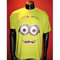 Camiseta Adulto Minions Dave