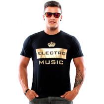 Camisa Slim Electro Music