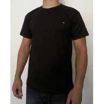 Camiseta Masculina Tommy Hilfiger Varias Cores Basica