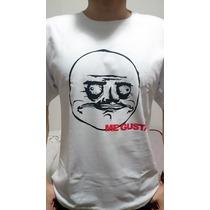 Camiseta Personalizada Engraçada Me Gusta Memes Frete Grátis