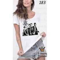 Camiseta T-shirt Sevenfold Fashion Feminino Frete Grátis