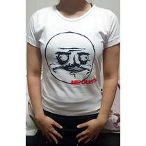 Camiseta Personalizada Engraçada Meme Me Gusta Frete Grátis*