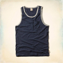 Camisa Camiseta Regata Hollister Original - M - No Brasil