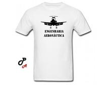 Camiseta Curso Engenharia Aeronáutica