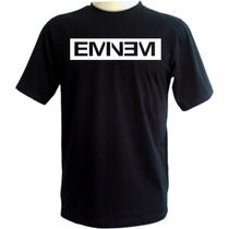 Camiseta Eminem - Exclusiva - Preta - Hip Hop - Rap