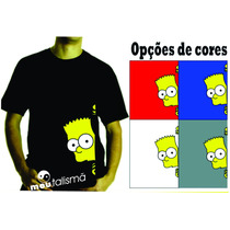 Camiseta Ou Baby Look Bart Simpsons
