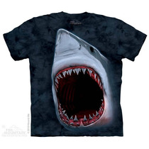 Camiseta Shark Bite/ Mordida Do Tubarao - The Mountain