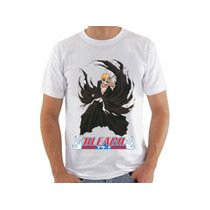 Camiseta Bleach Ichigo Kurosaki Anime Camisa