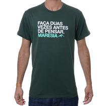 Camiseta Maresia Classic -surf-skate Em 12 X S/juros