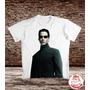 Camiseta Matrix - Morpheus - Reloaded - Revolutions - Filmes