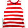 Camiseta Hering Listrada - 8 Anos - Saldo Est. - 50% Off!!