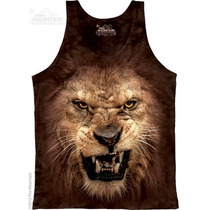 Camiseta Regata Leão Rosnando/roaring Lion - The Mountain