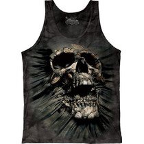 Camiseta Regata Skull Breakthrough/ Caveira - The Mountain