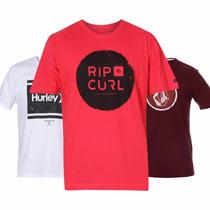 Camisetas Quiksilver | Hurley | Billabong | Rip Curl