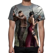 Camisa, Camiseta Game Resident Evil 4 - Estampa Total