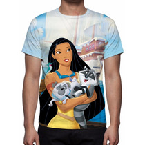 Camisa, Camiseta Disney Pocahontas 2 - Estampa Total