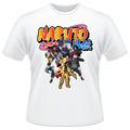 Camiseta Naruto Shippuden Kurama Sasuke Kakashi Camisa