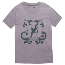 John John Camiseta Infantil Made In Haven Menino Denim