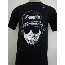 Camiseta Gangsta 41 Rap Hip Hop P Easy-e Zumbi Crazzy Store