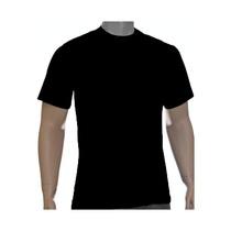Kit 50 Camisetas Básicas Pretas 30/1 !!!r$8.90 Cada!!!