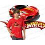 Camiseta Hot Wheels Carros Super Herois Infantil Desenho