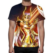 Camisa, Camiseta Cavaleiros Do Zodíaco Shura De Capricórnio