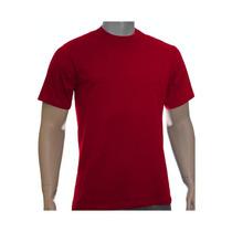 Kit 10 Camisetas Lisas Fio 30/1 Penteado Cores Variadas