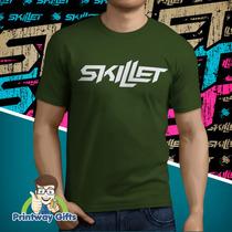 Camiseta Skillet - Temos Todas As Bandas!