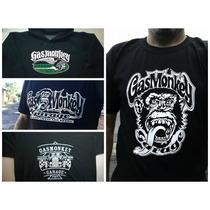 Camiseta Gas Monkey Gola V E Exclusivo Loguinho, Show