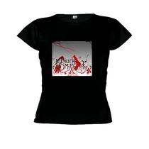 Camisetas Baby Look Banda Bullet For My Valentine -feminino