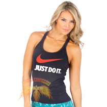 Regata Nike Just Do It -feminina-personalizada - Exclusivas!