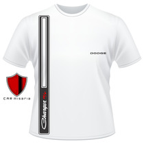 Camiseta Dodge Charger Rt (2) Carros Antigos Personalizada