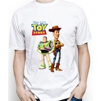 Camiseta Adulto Personalizada Do Toy Story