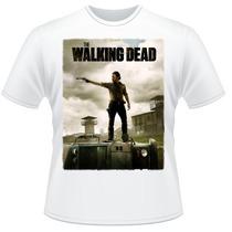 Camiseta The Walking Dead Amc Rick Grimes Camisa