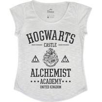 Blusa - T Shirt - Feminina Hogwarts Harry Potter