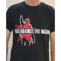 Camiseta Rage Against The Machine - Red Star
