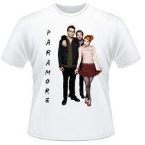 Camiseta Paramore Never Ends Rock Frente Verso Camisa #3