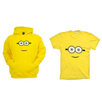 Combo Blusa Com Camiseta Minions