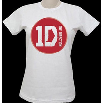 Camisa One Direction ( Outras Estampas) Masculina & Feminina