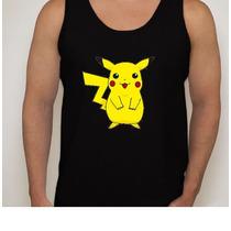Camiseta Regata Pikachu - Pokémon