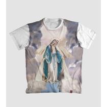 Camiseta Nossa Senhora Das Graças Religiosa Católica