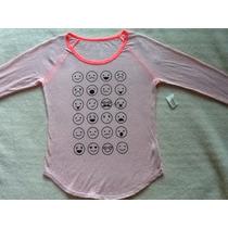 Aeropostale Camiseta Feminina Importada Original Nova