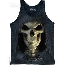 Camiseta Regata Big Face Death/cara Da Morte - The Mountain