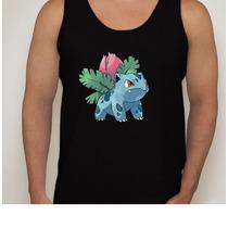 Camiseta Regata Desenho Pokémon