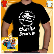 Camiseta Charlie Brown Jr Camisa Cbjr Bandas Rock Skate 013