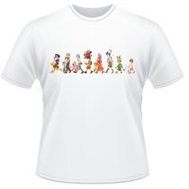 Camiseta Digimon Anime Desenho Frente Verso Camisa #01