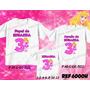 Camisetas Aniversario Princesa Aurora Bela Adormecida - C/ 3