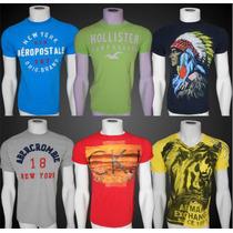 Camisetas Abercrombie Hollister Aeropostale Armani Exchange